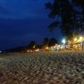 ko lanta beach at night
