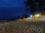 ko lanta beach at night