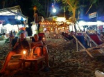 ko lanta drinks on the beach