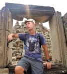 reflecting on angkor thom
