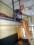 thai sleeper train top bunk