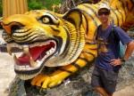 tiger near wat tham sua