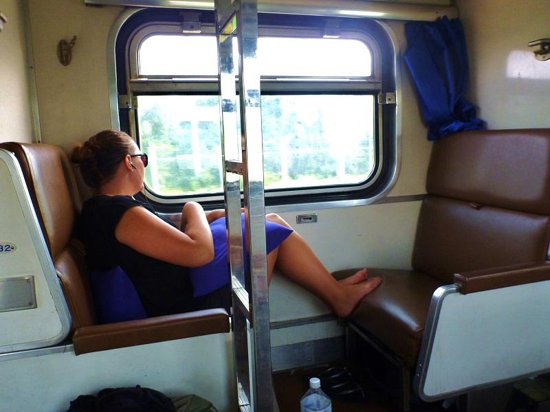 train to serat thani