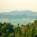 view from top of tiger cave temple