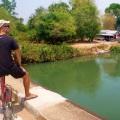 bike riding on don det