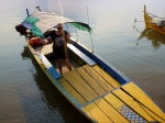 boat to see Irrawaddy dolphin
