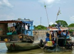 floating markets mekong delta