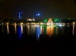 Hoan Kiem Lake at night