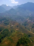 vietnam highlands near sapa