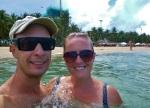 swimming at nha trang