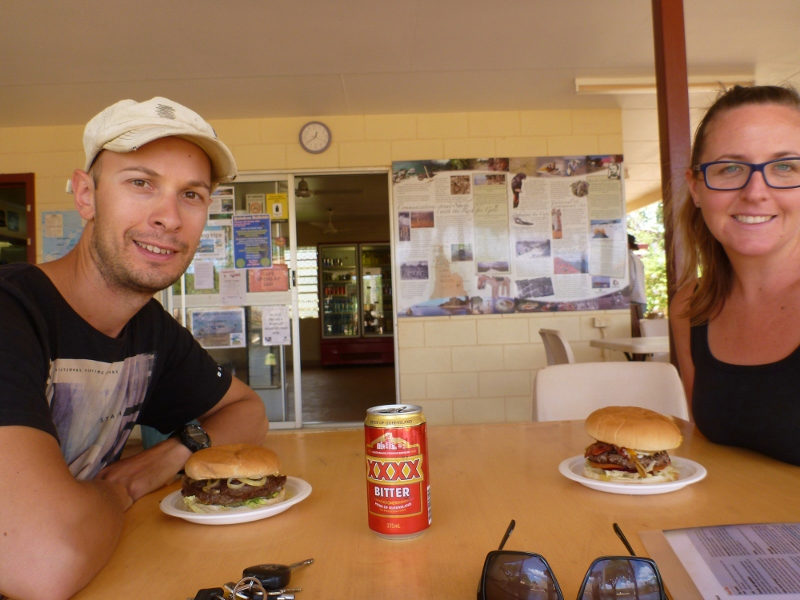 burgers at archer river roadhouse