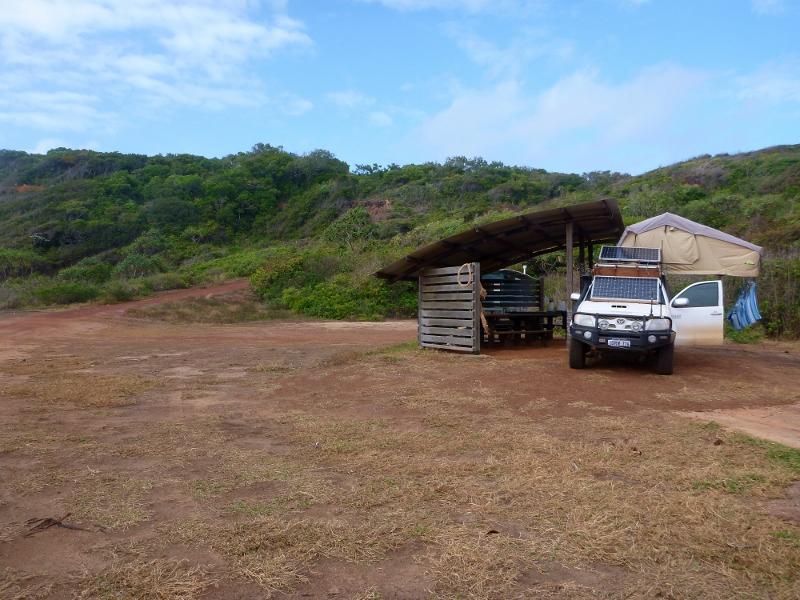 camping area at captain billys landing