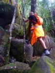 Climbing Mt Bartle Frere