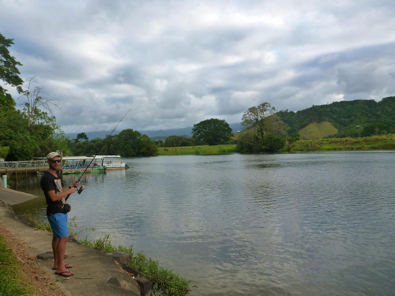 daintree river fishing