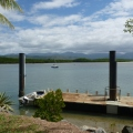 daintree river near daintree village