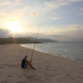 Fishing at Punsand Bay Cape York