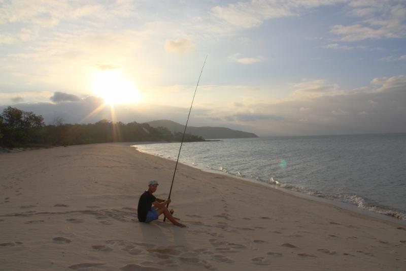 Fishing at Punsand Bay Cape York