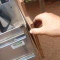 fixing drawer front