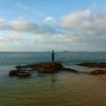 joe fishing at alau beach umagico