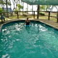 Swimming pool punsand bay