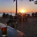 beer at sunset tavern, karumba