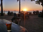 beer at sunset tavern, karumba