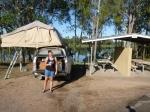 claude wharton weir camping area