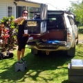 cleaning hilux