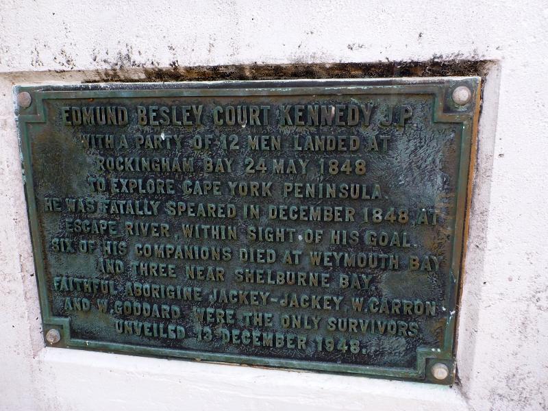 edmund kennedy memorial