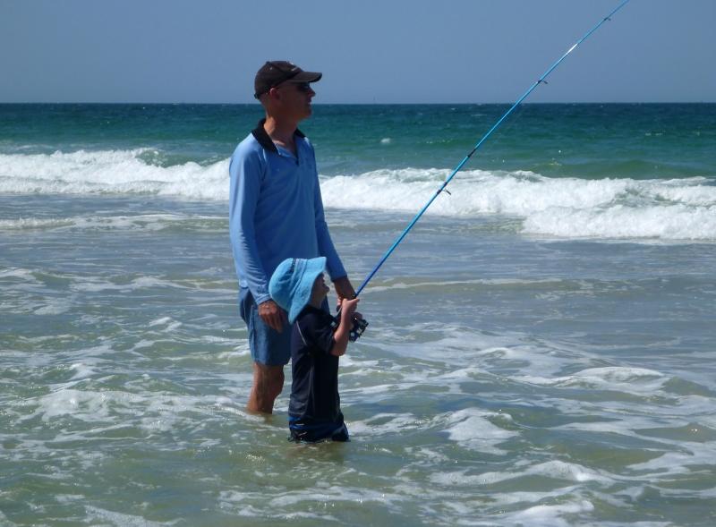 fishing bribie island