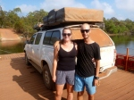 leaving cape york on jardine river ferry