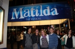After seeing Matilda the Musical, Broadway, New York City