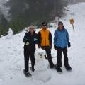 Andrew, Joe and Sharni,Grouse Mountain