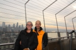 At the top of the Seattle Space Needle