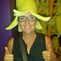 Awesome banana hat