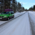 Bryce Canyon iced roads