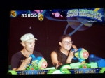 Buzz light year game ride
