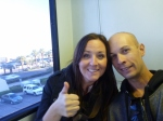 Catching the monorail from the Mandalay to the Luxor