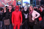 Crazy Halloween Costumes everywhere, Times Square NYC