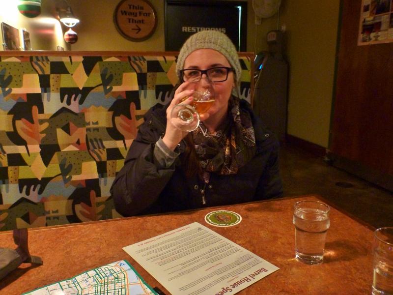 Enjoying some sour beer