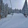 Explorer Chair Lift, Brighton Ski Resort, Salt Lake City Utah