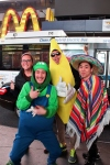 Halloween Randoms (note the Banana Man) Times Square NYC