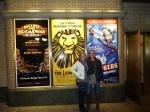 Heidi and Sharni on Broadway, New York City