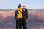 Joe and Sharni Grand Canyon National Park