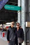 Joe and Sharni on Wall Street NYC