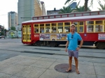 Joe and Street Car, New Orleans