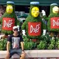Joe at the Duff Brewery