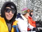 Joe on chair lift Brighton Ski Resort, UTAH