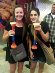 Massive Margarita Slushies, Bourbon Street New Orleans