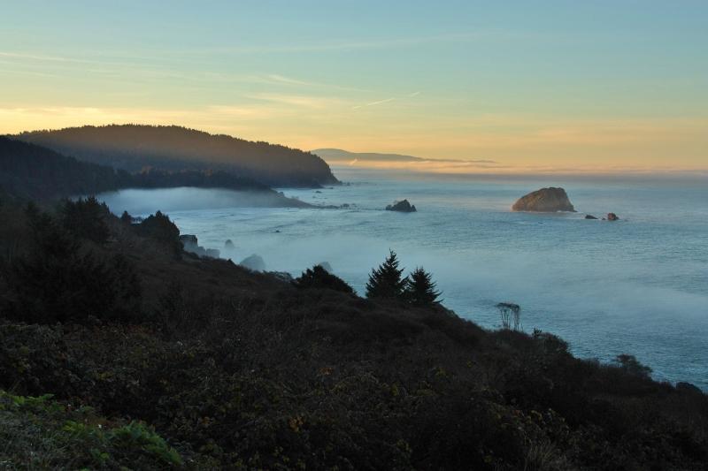 oregon coast near california